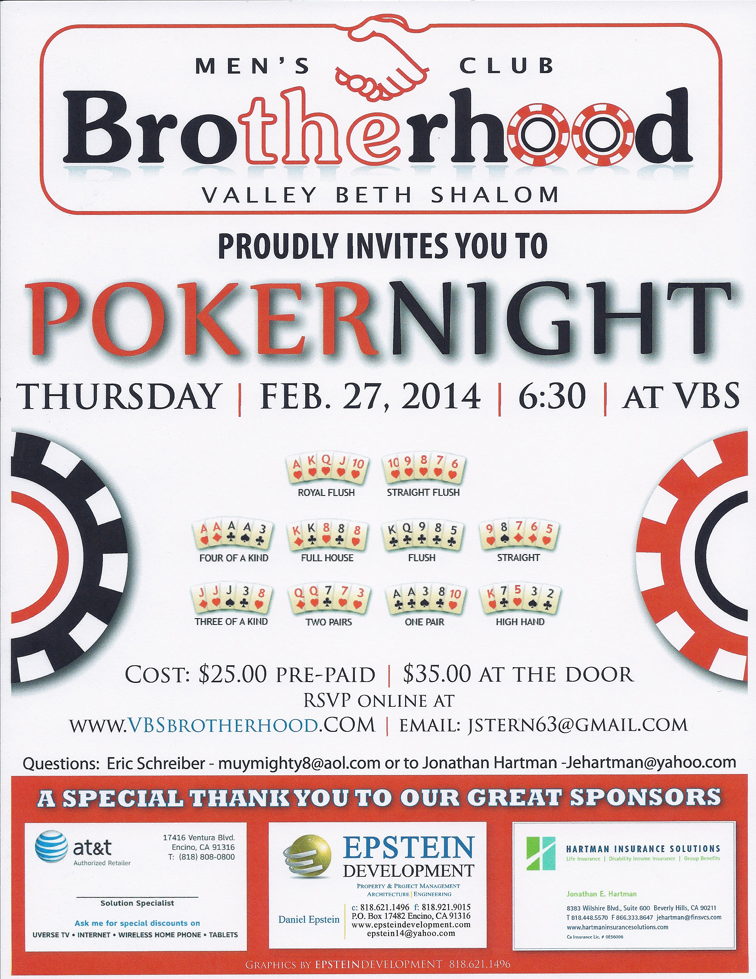 Poker Feb 27 2014