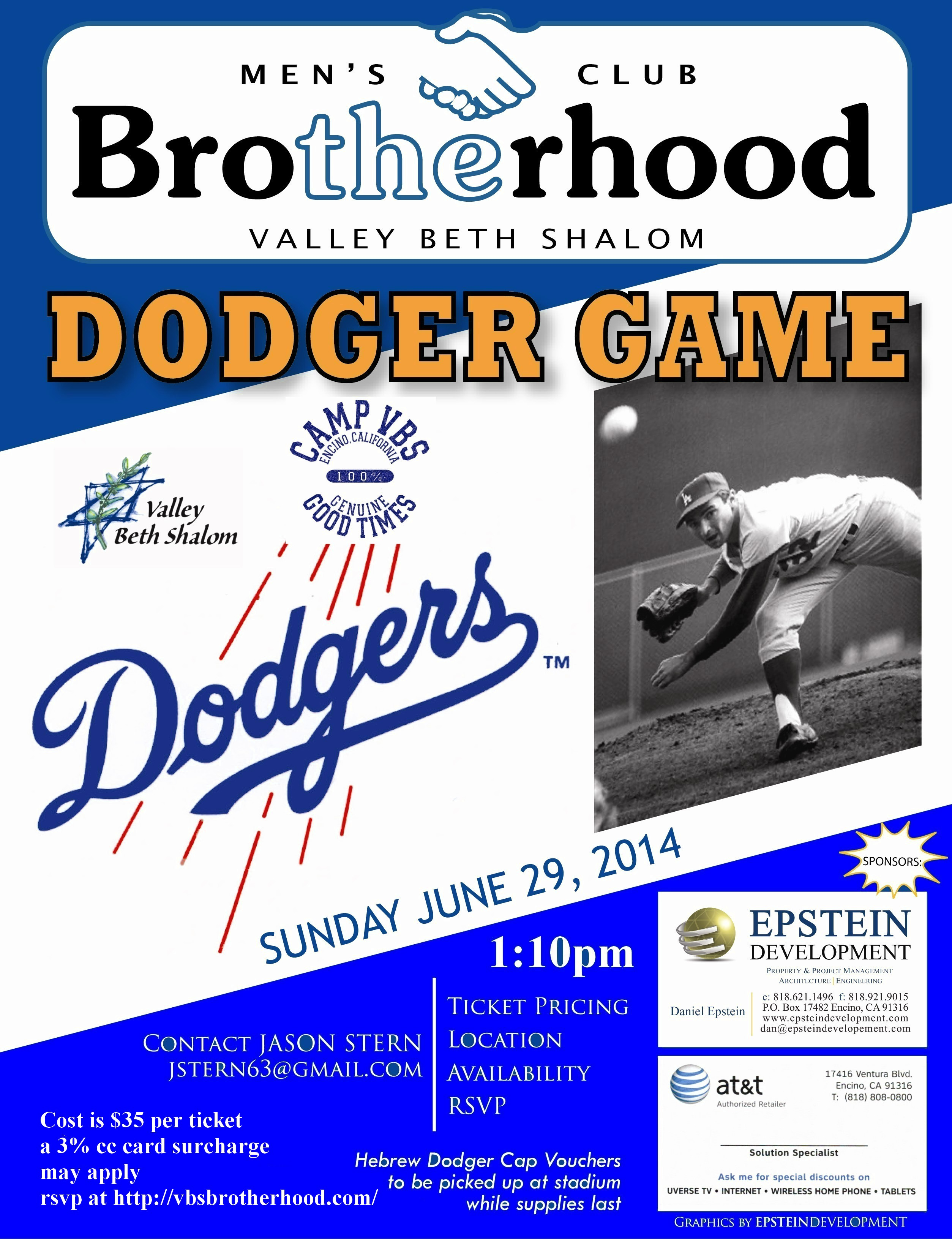 TheBrotherhood_Dodger Game_2014d