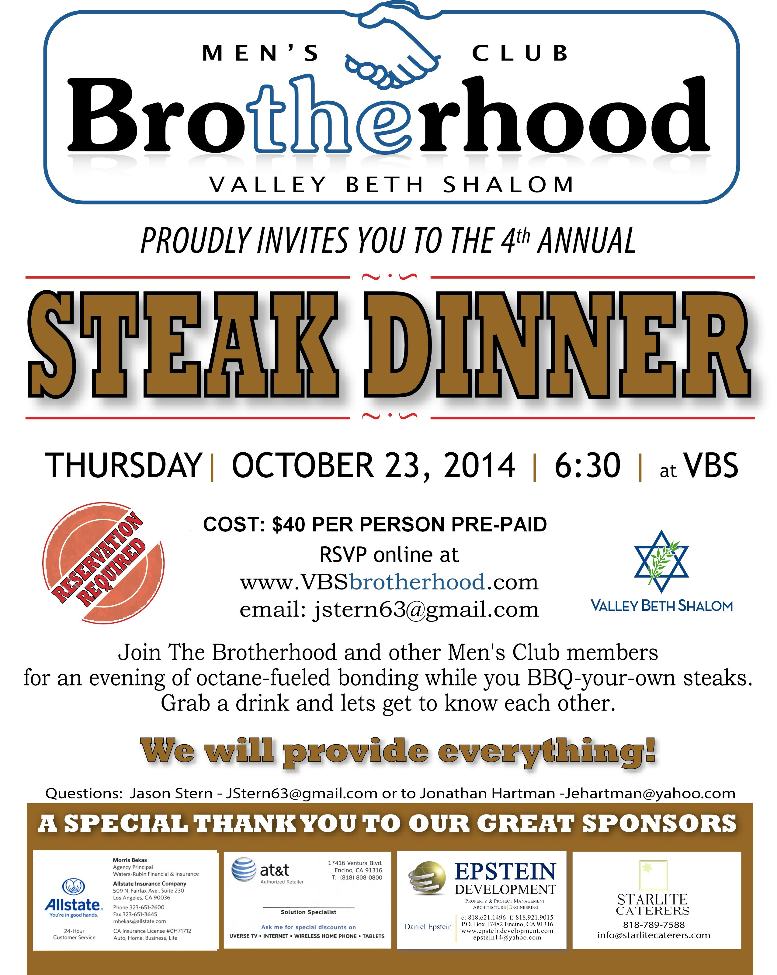 TheBrotherhood_Steak Dinner_2014D