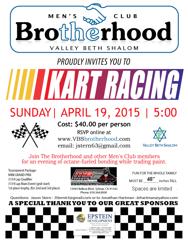TheBrotherhood_Kart Racing_2015