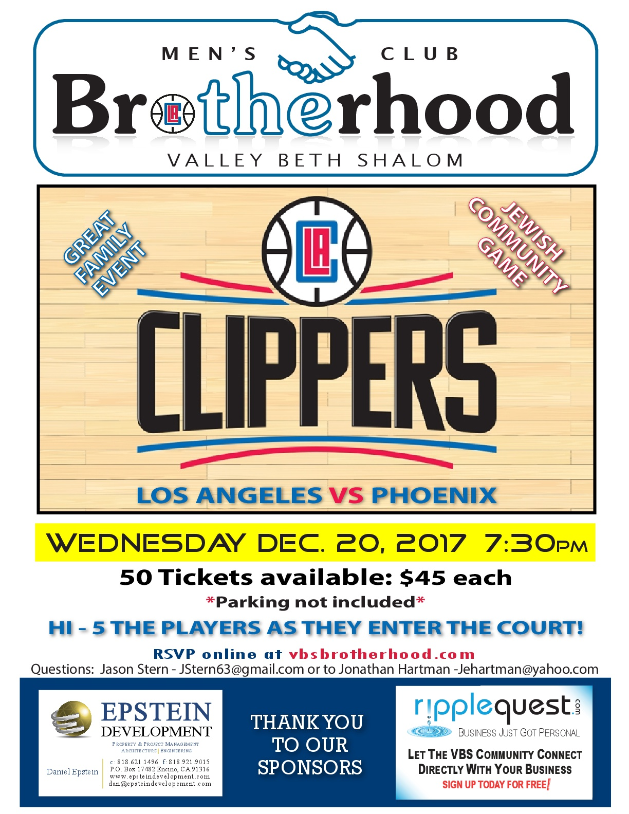 TheBrotherhood_Clippers Game_2017-001