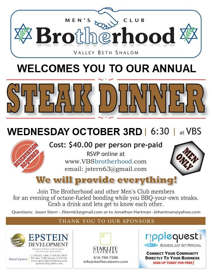 Steak night 2018