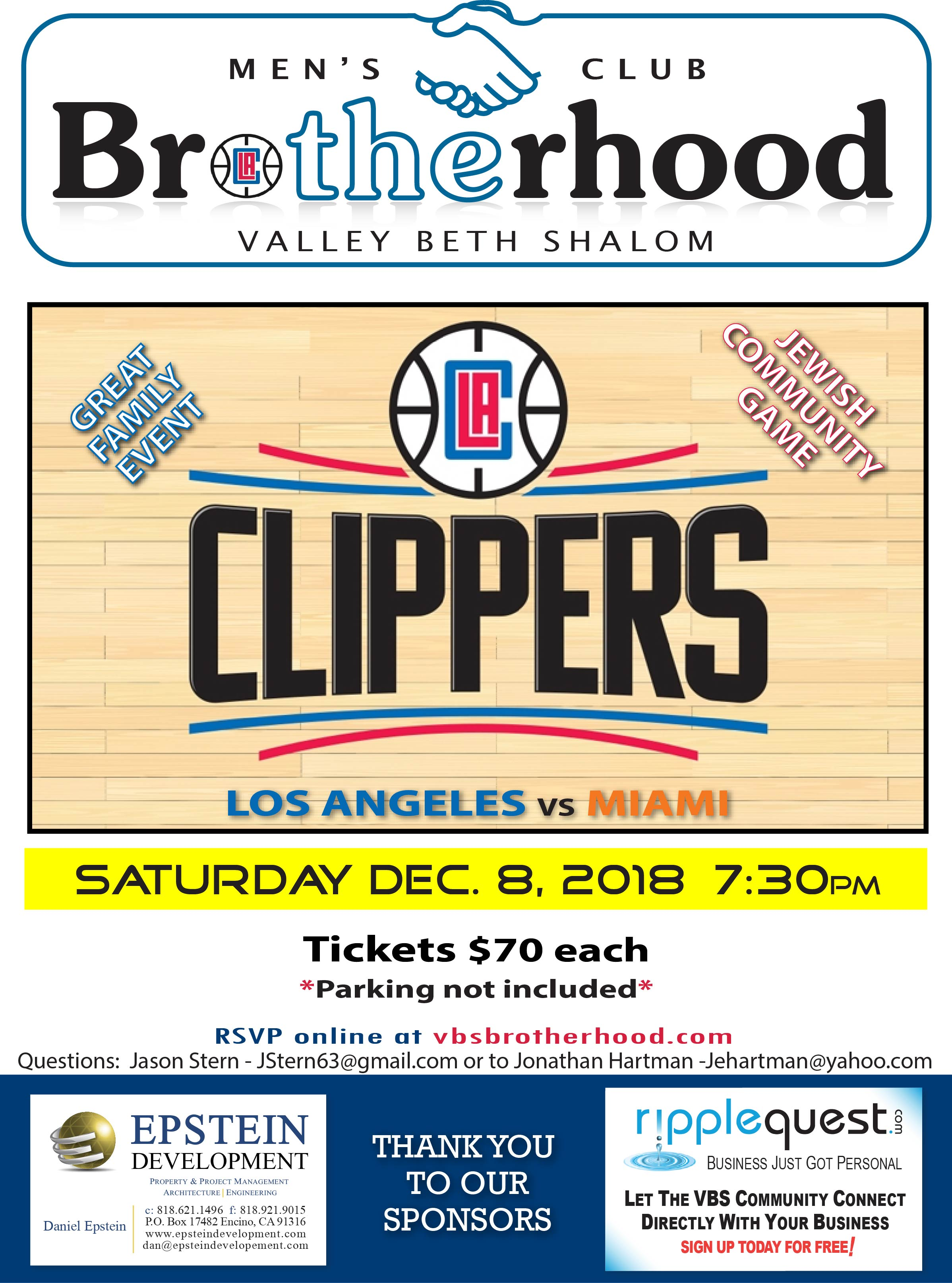 TheBrotherhood_Clippers Game_2018